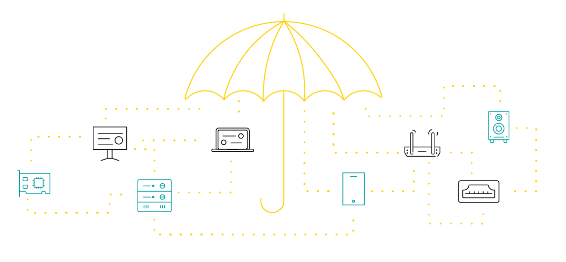 IoT umbrella