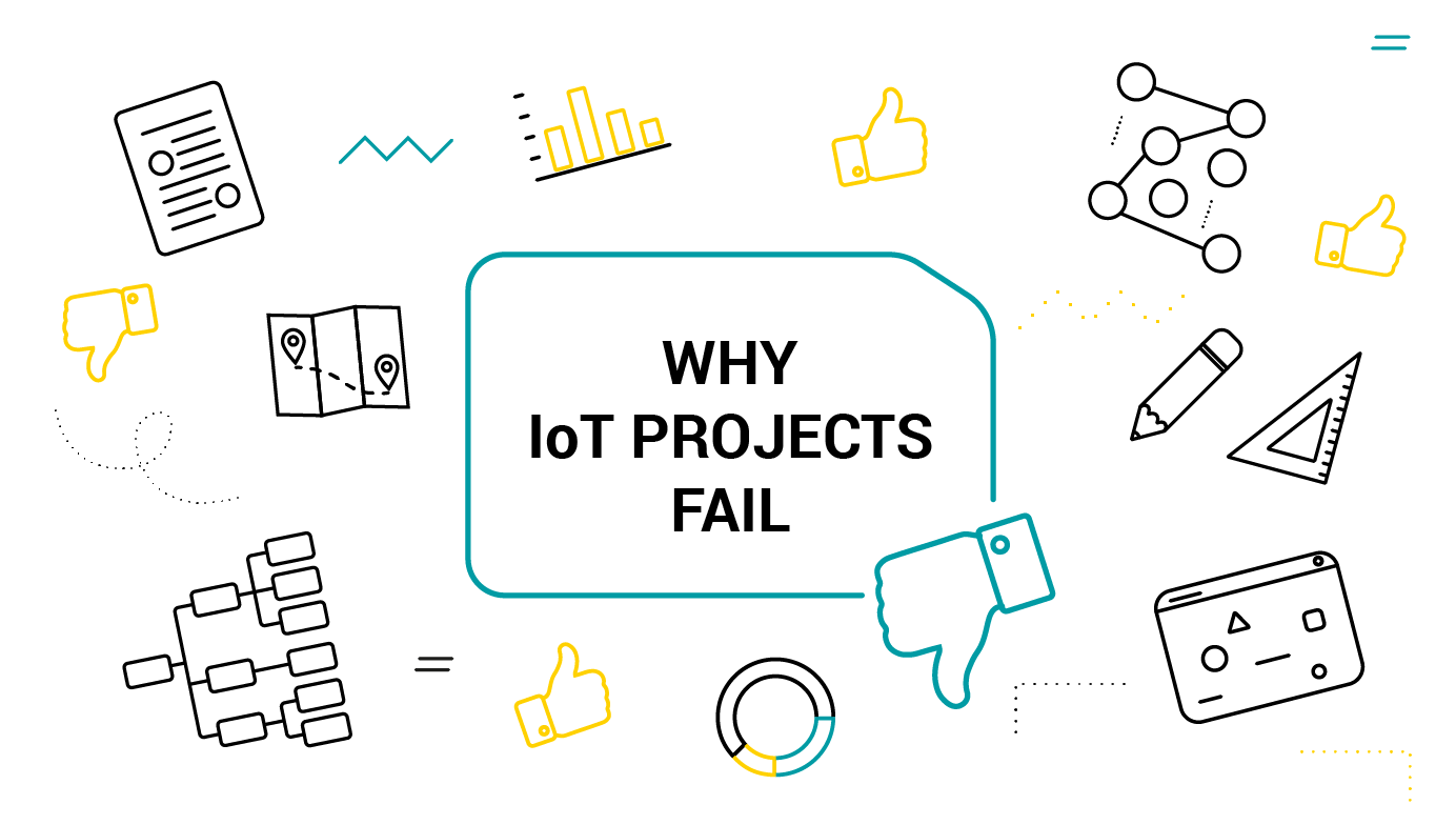 Why So Many IoT Projects Fail? Main Reasons of IoT Projects Failure