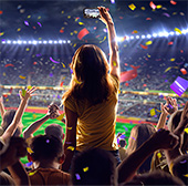 Multi-venue smart WiFi is a must have at Stadium and sport venues.